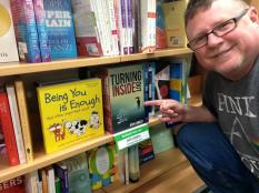 In the bookshops!