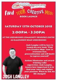 Josh Langley Book Launch 13 October 2018
